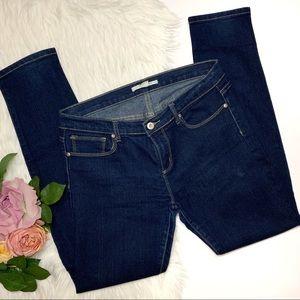 21 Denim   Dark Blue Skinny Jeans